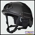 LG/XLG Mostrador Preto Deluxe Verme 3A RÁPIDO À Prova de Balas NIJ nível IIIA Relatório de Teste Balístico capacete Com HP Branco e 5 Anos de Garantia