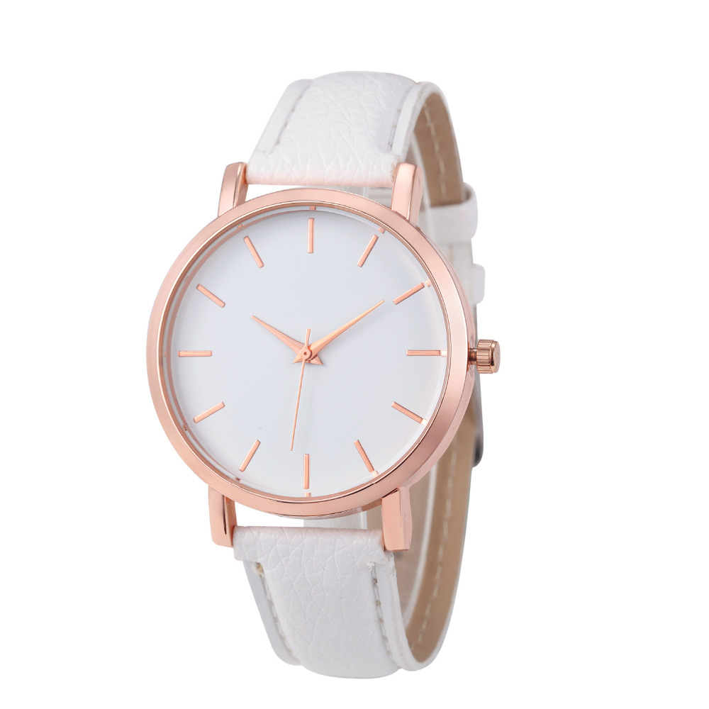 Buy susenstone women watches geneva brand fashion dress ladies watches leather for Watches brands for lady