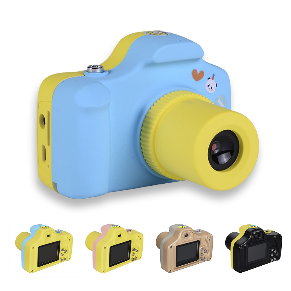1080P Mini LSR Camera for Kids Baby 1.5 Inch 2MP Digital Cute Cartoon Multifunction Toy Camcorder Children Birthday Best Gift