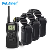 Petrainer 1000m 900 3 pet product electric dog collar for small and large dogs