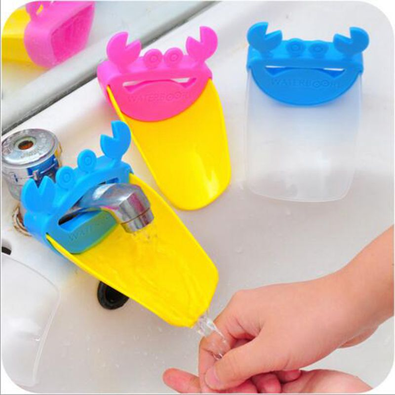 Lovely Crab Leaf Shape Bathroom Sink Faucet Chute Extender Children Kids  Washing Hands In Bath Brushes From Mother U0026 Kids On Aliexpress.com |  Alibaba Group