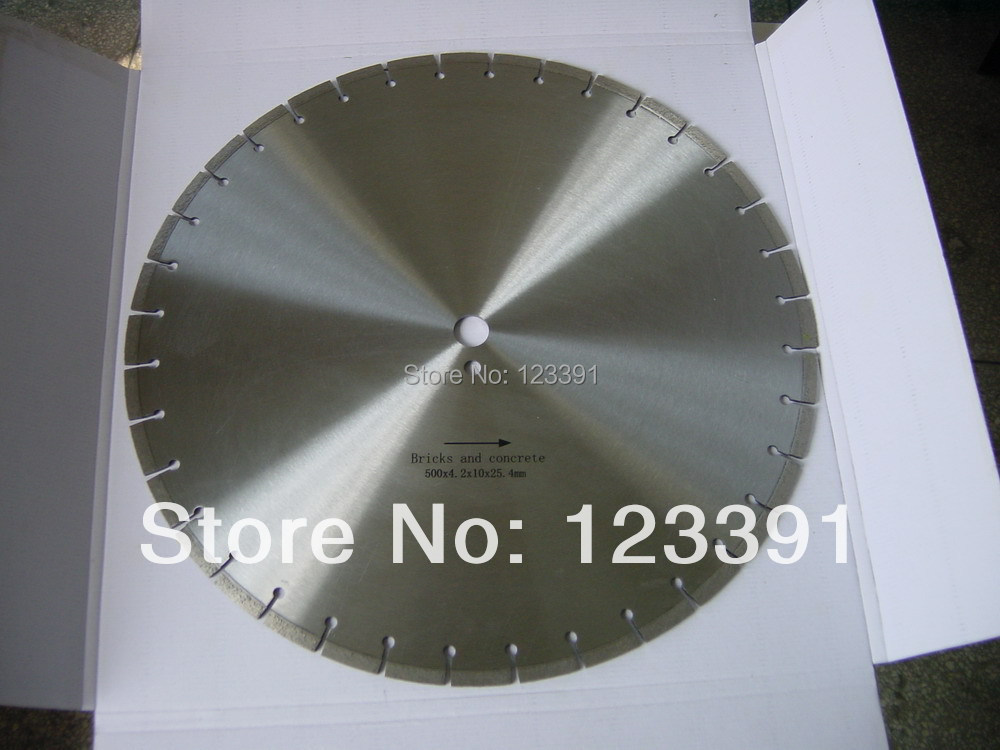 цена на 1pc of top quality Laser welded diamond saw blades 450mm*50/25.4mm*12mm for mansory cutting marble/granite/concrete/sandstone