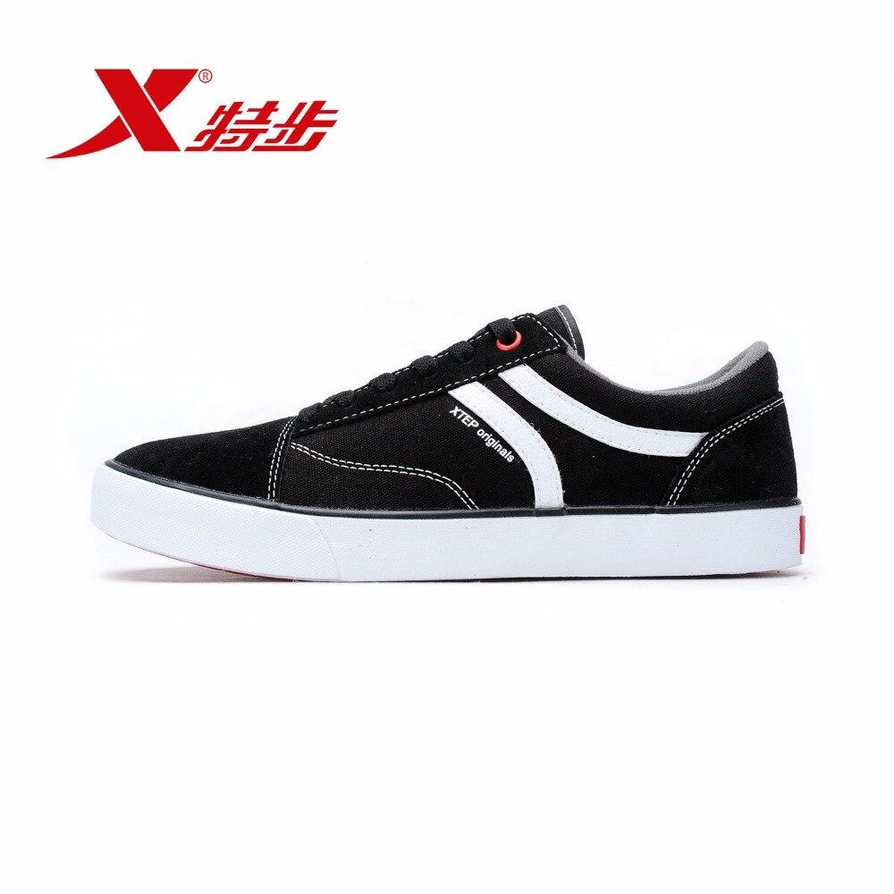 984119315238 XTEP Original Low Upper Flat Men Skateboard Shoes