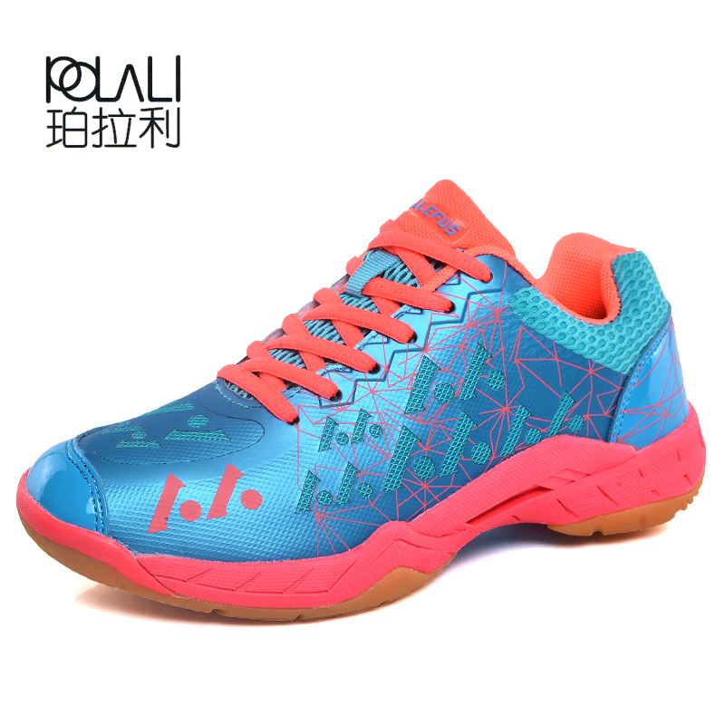 Brand Men Badminton Shoes High Quality EVA Muscle Anti-Slippery Training Professional Sneakers Women Sport Badminton Shoes Plus