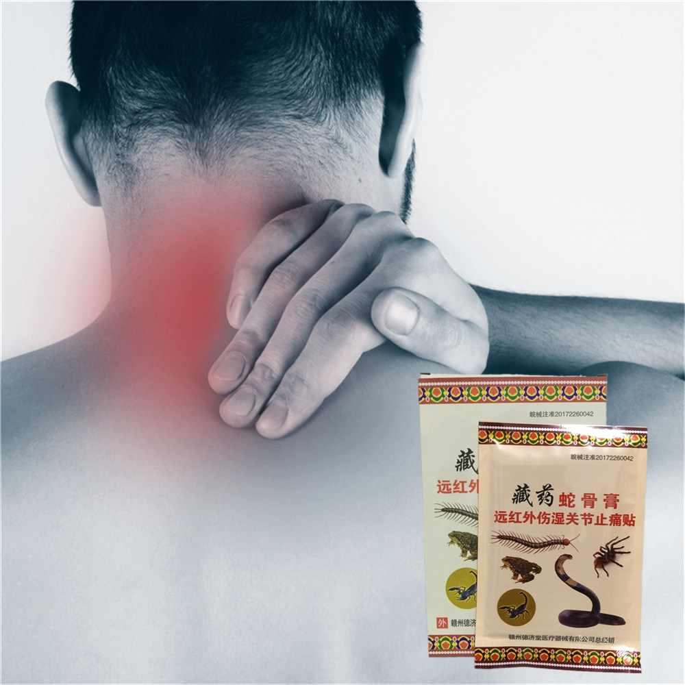 Самый дешевый ревматизм избавление от боли при артрите патч Кобра кости крови обратно замороженные плечи штукатурка Эфирная масляная мазь 8 шт./пакет