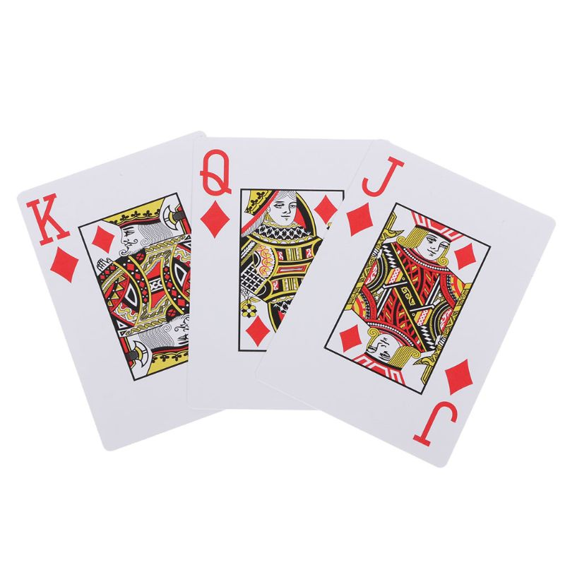 Reliable Supplier 1pcs Playing Cards Waterproof Washable Poker New Blue 100 PLASTIC Size Texas Poker in Adult Games from Beauty Health