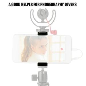 """Image 5 - Ulanzi uniwersalny uchwyt na telefon 1/4 """"śruba do mocowania wysokość regulowany uchwyt do smartfona prosta instalacja narzędzie do fotografii telefonu"""