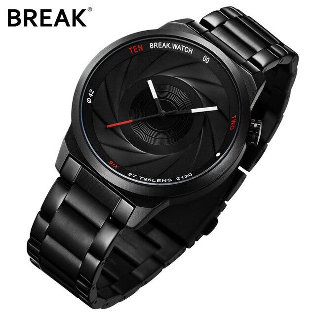 Break Unique Design Photographer Series Men Women Unisex Brand Wristwatches Sports Rubber Quartz Creative Casual Fashion Watches
