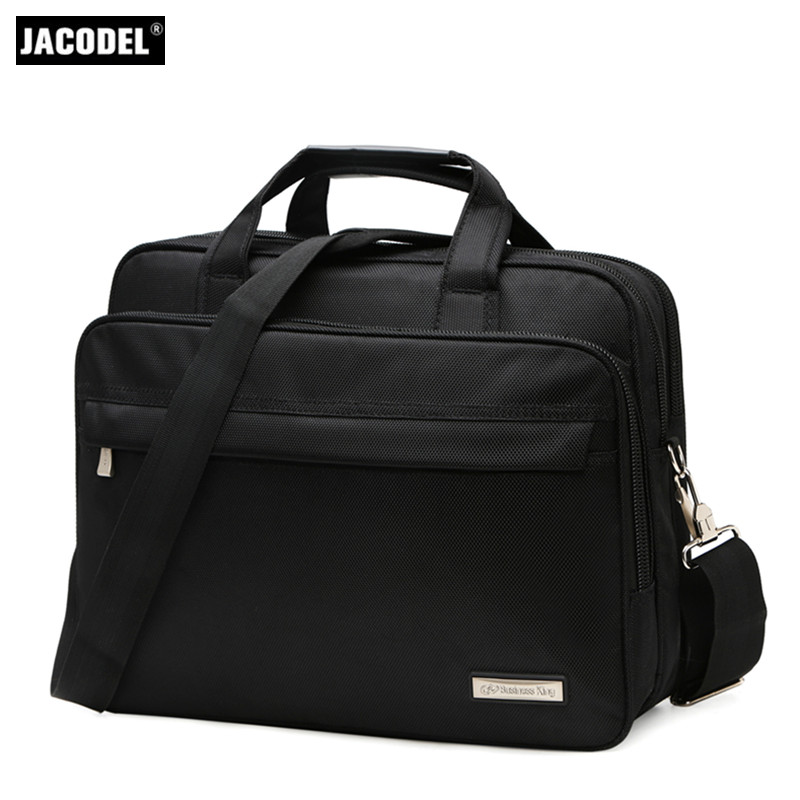 Jacodel Business Large Crossbody 15.6 Inch Laptop Briefcase for Men HandBag for Notebook 15 Laptop Bag Shoulder Bag for Student