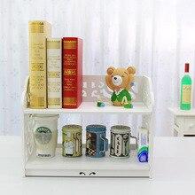 Большой размер деревянный стол стеллаж для хранения книжная полка отделка ящик для хранения кадра для спальни офис