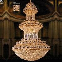 Lighting Crystal Lamp Penthouse Floor Villa Hotel Lobby Lamp Engineering Lamp Customization Chandeliers Lmy 098