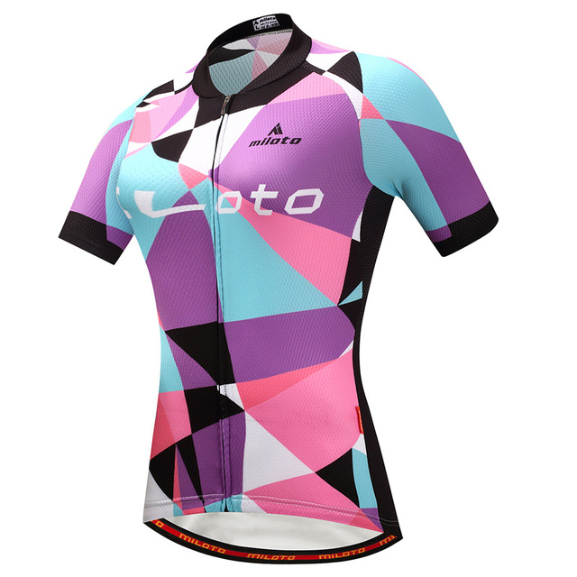 9cea1a31f casco ciclismo 2018 Women Bike Top Shirt Summer Short Sleeve MTB Cycling  Clothing Ropa Maillot Ciclismo Racing Bicycle Clothes