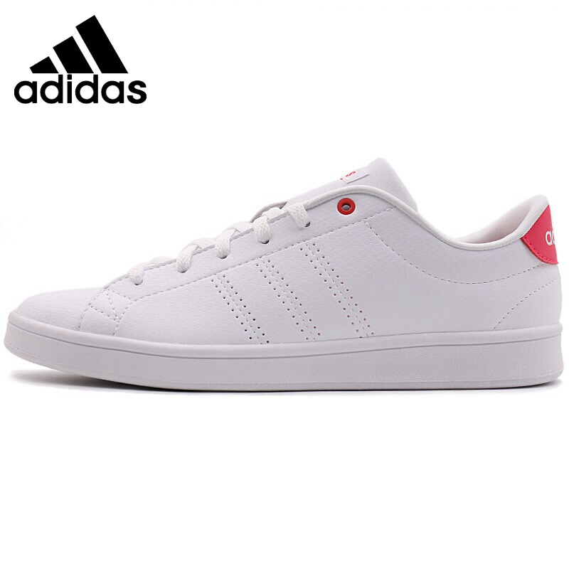 factory authentic 8d0b1 fc1b5 Original Authentic Adidas NEO Label ADVANTAGE CLEAN QT Womens  Skateboarding Shoes Thread Hard-Wearing Sneakers Sports Outdoor