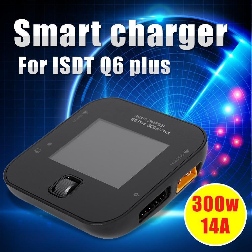 100% Оригинальные Q6 плюс 300 Вт 14A мини для карман Батарея баланс Зарядное устройство для RC Запчасти
