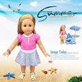 Горячие Продажи Куклы Юбка Платье для American Girl Куклы Девушки Лучшие Подарки На День Рождения