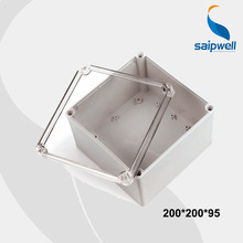 80*110*85mm Size  IP66 Waterproof Plastic Box, Transparent Cover Box, ABS Plastic Enclosure (DS-AT-2020-S)