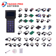 Newest Tacho Pro 2008 July Universal Mileage Odometer Correction Tool Tacho Pro Unlock Version Dash Programmer Full Set DHL Free