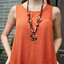 Handmade Boho Jewelry Sweater Chain Women Ethnic Style Long