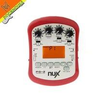 Nux pg-2 efectos multiefectos procesador de efectos de guitarra eléctrica con distorsión sobremarcha blues chorus flanger delay reverb