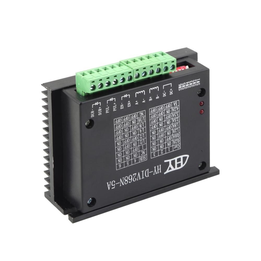 2018 New Motor Driver Single Axis TB6600 0.2-5A Two Phase Hybrid Stepper Controller Worldwide Store High Quality div268n 5a new cnc single axis tb6600 0 2 5a two phase hybrid stepper motor driver controller motor accessories