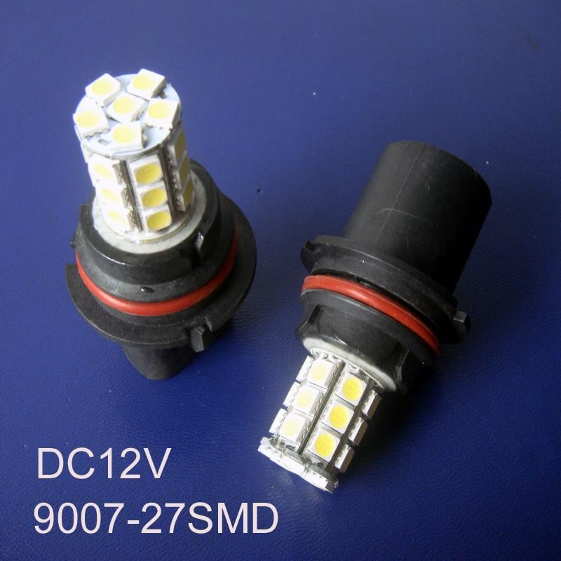 High Quality Car 12V 9007 HB2 Led Fog LampAuto Lamp9007 Bulb Lamp Light Free Shipping 20pcs Lot In LED Bulbs Tubes From Lights