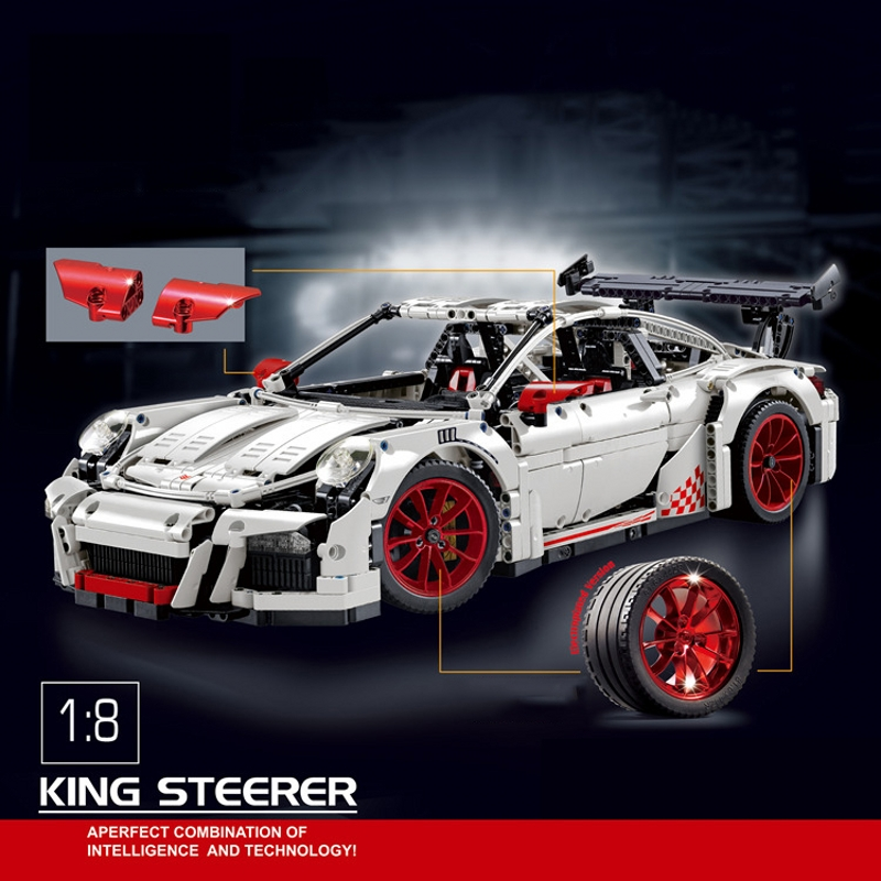 Decool 3368 Car Model Building Bricks Blocks Set Toys New year Gift Toys for Children Boy educational toy LEPIN 20001 lepin 02005 volcano exploration base building bricks toys for children game model car gift compatible with decool 60124
