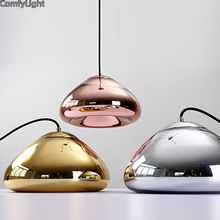 Glass mirror Pendant Light nordic Hang Lamp Living Room Bedroom kitchen island bar shop Restaurant Globe