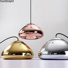 Glass mirror Pendant Light nordic Hang Lamp Living Room/Bedroom/kitchen island/bar/shop/Restaurant Globe Luminaria Home Lighting