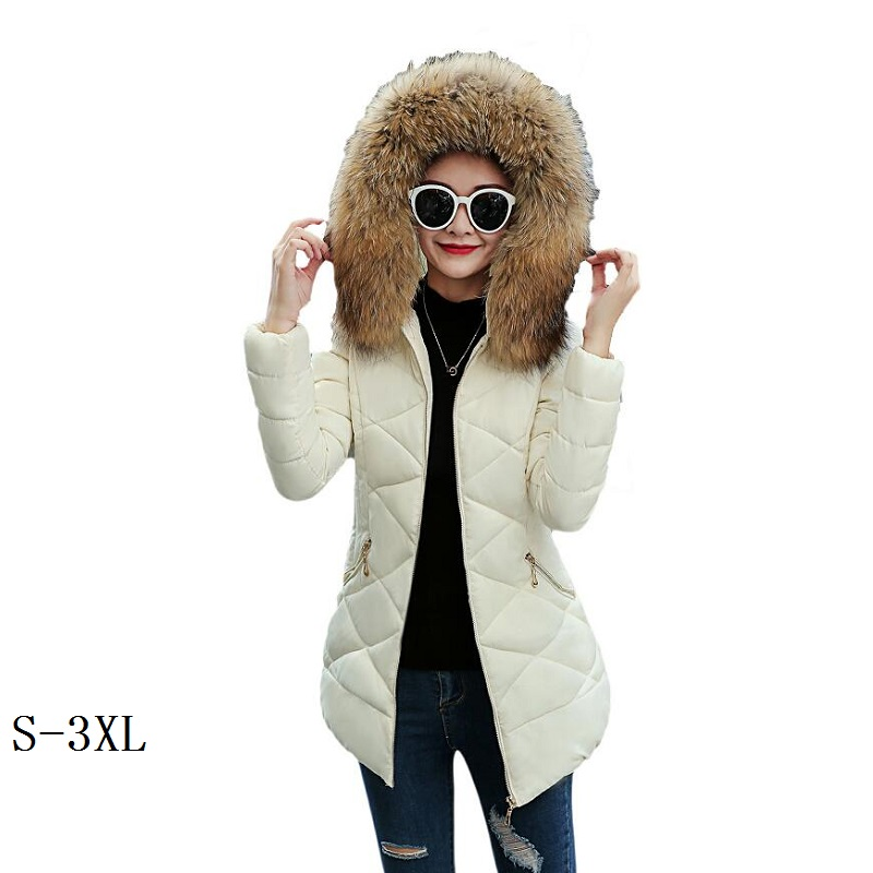 Winter jacket women Europe and the United States new womens cotton coat winter woman coats 2018 long fashion slim down