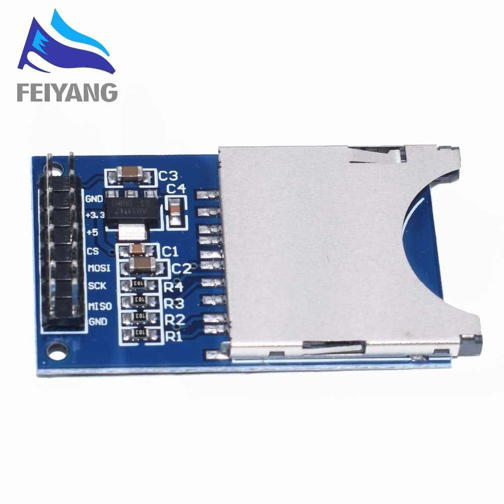 Módulo de lectura y escritura de ROBOT SAMIORE Módulo de tarjeta SD ranura de enchufe lector de brazo MCU