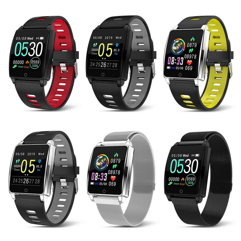 Image 5 - Smart Sports Watch Men Women Heart Rate Bracelet Blood Pressure Sleep Monitor Fitness Tracker Waterproof Android IOS Color Band-in Smart Wristbands from Consumer Electronics