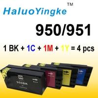 4 X Ink Cartridge For HP 950 951 XL Hp 8610 8620 8680 8615 8625 8600