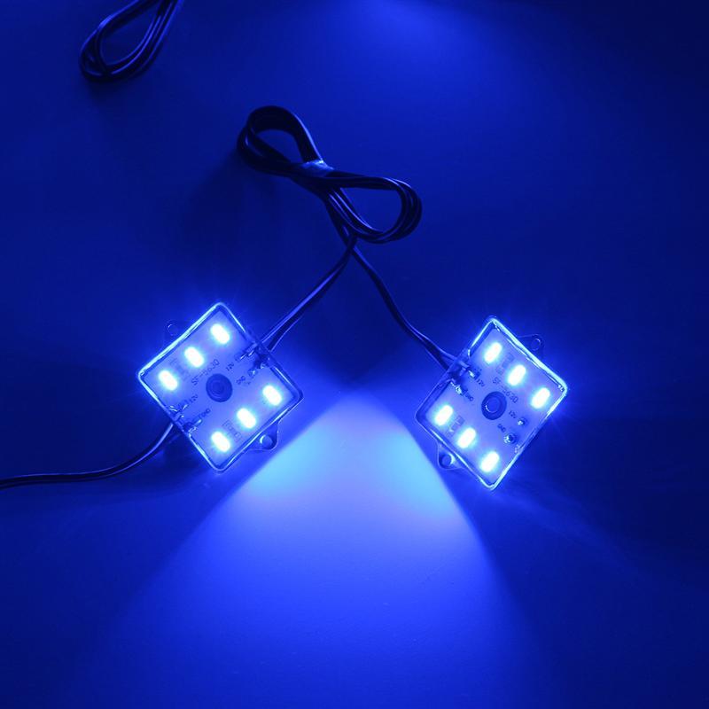 8 Stücke 56 cm Super Blue Auto Led lichtleiste Lkw Bett Beleuchtung ...