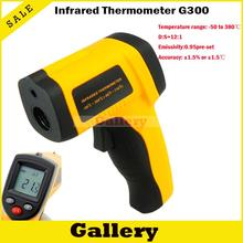 Cheapest prices Car Thermometer Digital Thermal Camera Infrared Thermometer Non-contact Laser Ir Gm300 -50 Degree To 380 for Industry