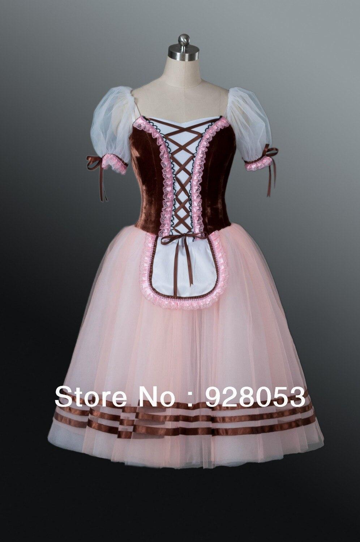 Adulte Giselle Ballet demi tutu, femmes ballerines professionnelles robes, classique ballet tutu pour les filles, danse costumesAT0068