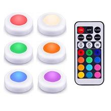 LED шайба света RGB 12 цветов светодиодный под шкаф свет затемнения сенсорный датчик внутреннего шарнира светильник ночник для шкаф шкаф