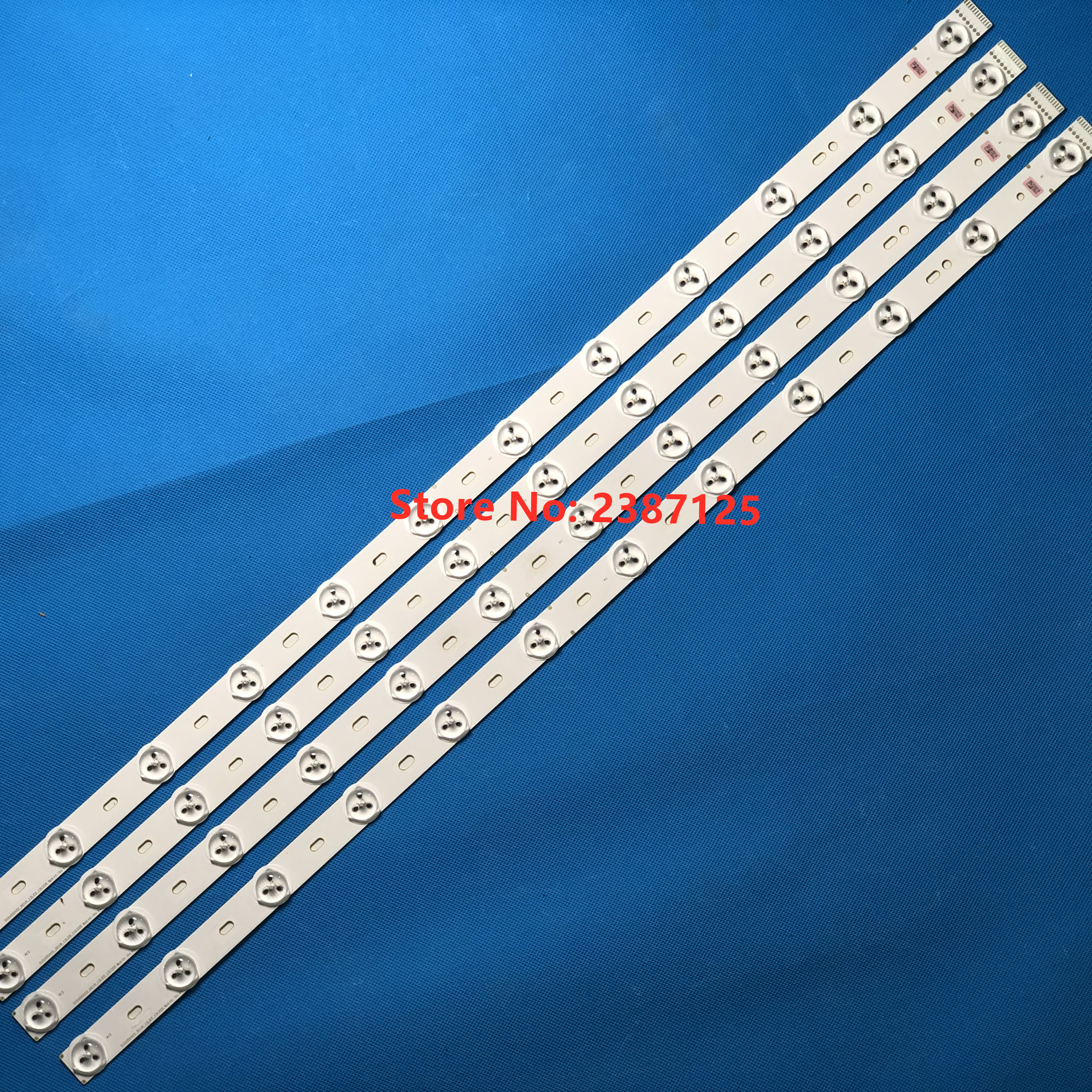 1lot=12 Pieces For Phili Ps Backlight 65PUS9809 LED TV SVS650A02-REV9_12LED SVS650A02_REV9_12LED_131205 LTA650FJ01