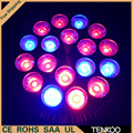 1X Can be customized 54W E27 85-265V High power 12red 6Blue LED Grow light for flowering plant and hydroponics system