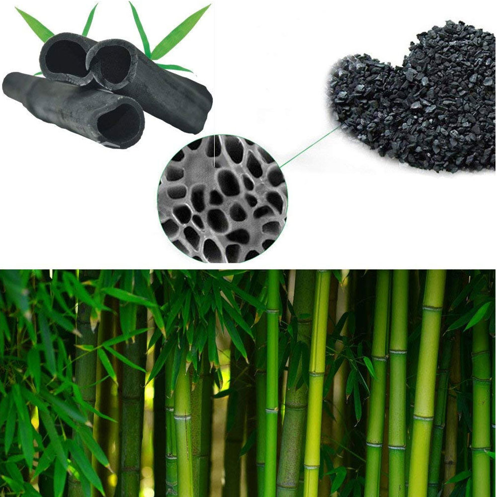 Air Purifying Bamboo Activated Charcoal Air Fresheners Odour Neutraliser Bags for Fridge Cars Kitchen Bathroom Closets 22
