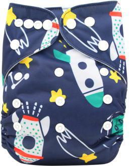 2019 50 Sets 1 1 New Design Printed Reusable Washable Pocket Cloth Diaper Nappy With Bamboo