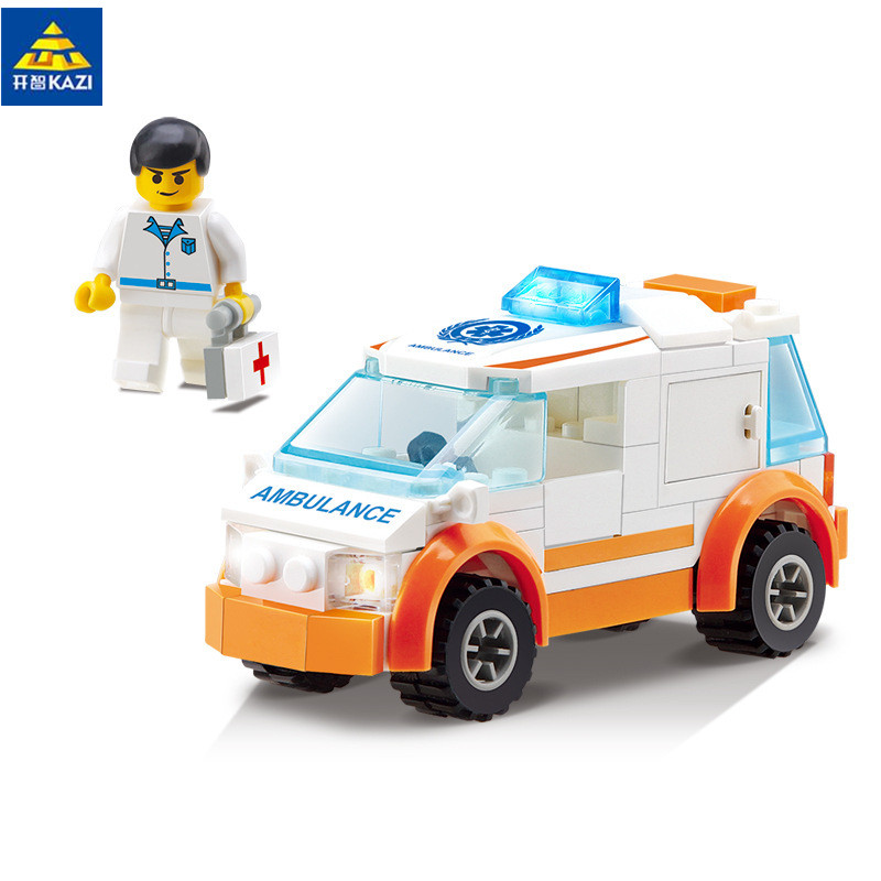 92pcs City air ambulance rescue teams Building Blocks action & toy figures Bricks Boys Toys gift brinquedos 85011 patrulla canina with shield brinquedos 6pcs set 6cm patrulha canina patrol puppy dog pvc action figures juguetes kids hot toys