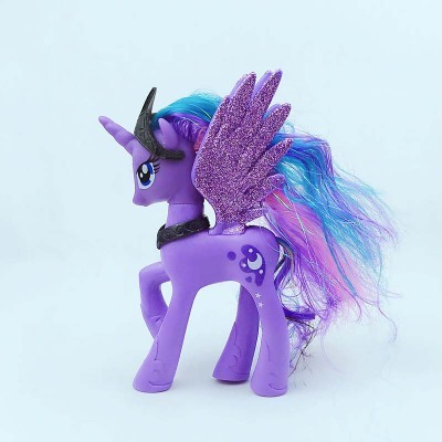 produs 14cm high unicorn pets horse princess celestia luna twilight