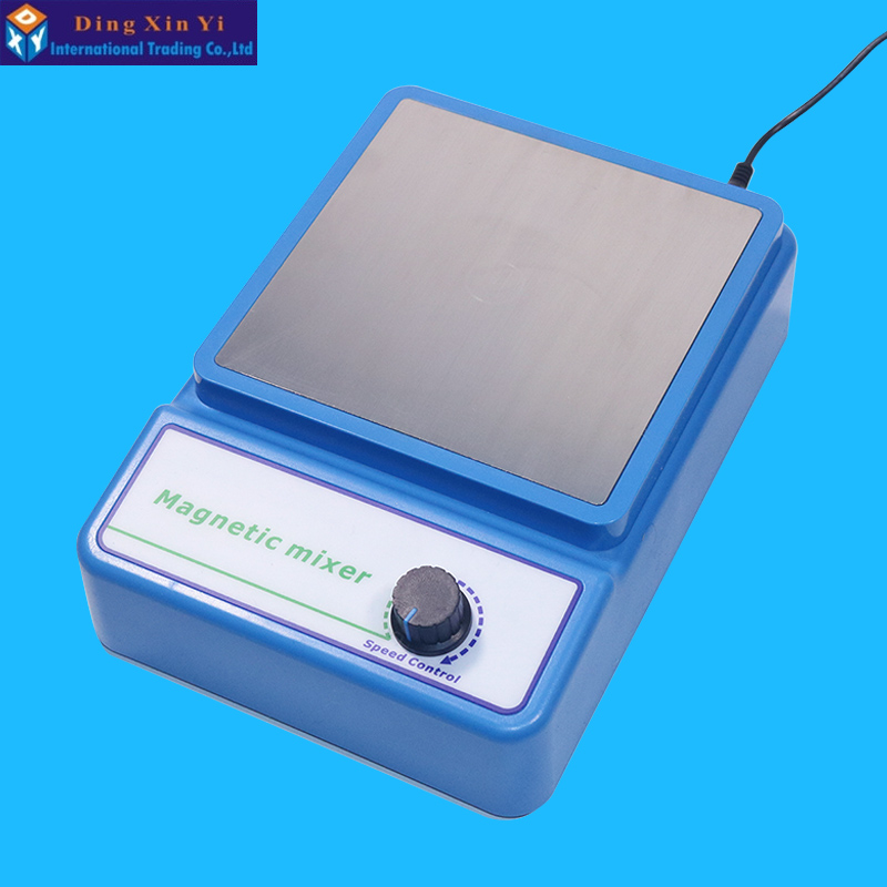 цена на Magnetic stirrer laboratory digital display constant temperature heating temperature control electromagnetic mixer