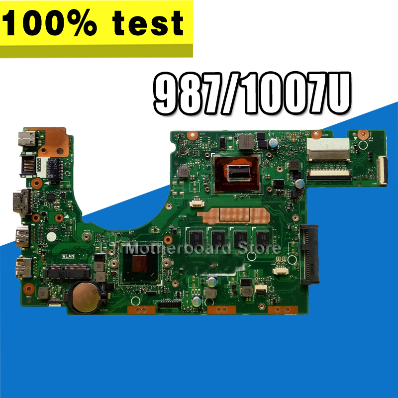new motherboard S300CA For ASUS S300CA  S300C VivoBook  Laptop motherboard S300CA mainboard 987/1007U  REV2.1 4G RAMnew motherboard S300CA For ASUS S300CA  S300C VivoBook  Laptop motherboard S300CA mainboard 987/1007U  REV2.1 4G RAM