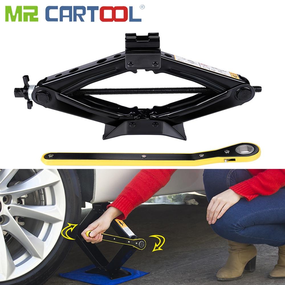 Mr Cartool 1.5 T Car Jacks Scissor Lift Jack For Car Tire Repair 1.5 Tons Lifting Height 38CM
