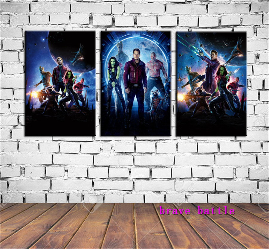 Guardians of The Galaxy Canvas Painting Living Room Home Decor Modern Mural Art Oil Painting