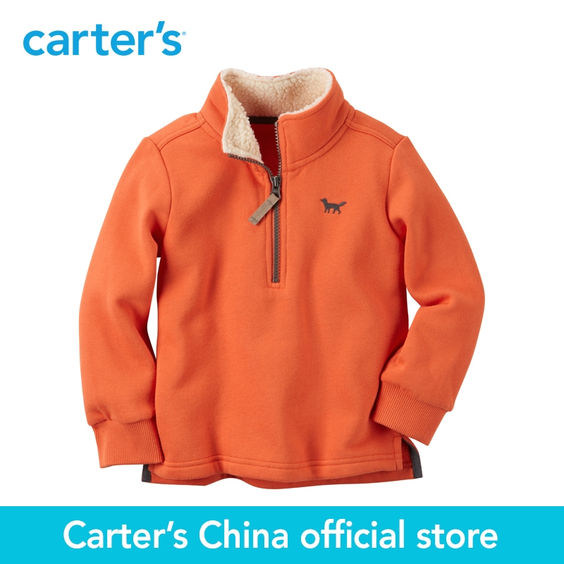 Carter s 1pcs baby children kids Half Zip Jacket 225G574 sold by Carter s China official