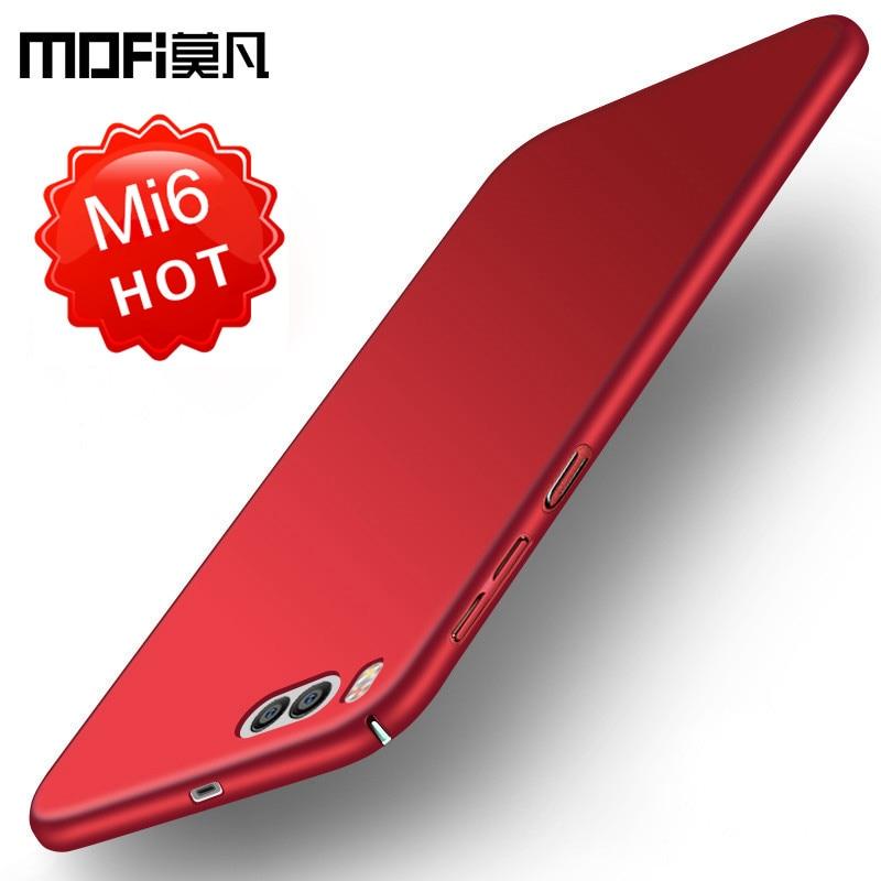 xiaomi mi6 საქმე xiaomi mi 6 შემთხვევა ყურის უკანა ფენის დამცავი ტელეფონის capas შავი ლურჯი MOFi ორიგინალი xiaomi 6 xiaomi mi6 შემთხვევაში