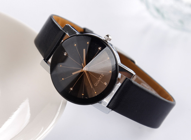 Splendid Watches Men Women Luxury Brand TEMPTER Quartz Dial Clock Leather Round Casual Wrist watch Relogio masculino black watc