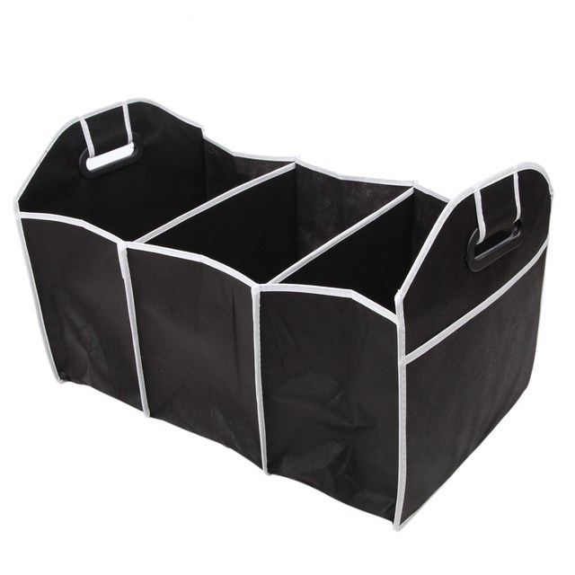 VODOOL Car Trunk Foldable Collapsible Storage Box Auto Car Rear Rack  Organizer Food Tools Truck Cargo